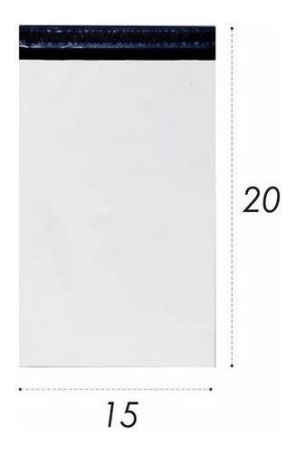 Imagem 1 de 5 de Embalagem Plástica Lacre Sedex Correio Saco 15x20 100 Un