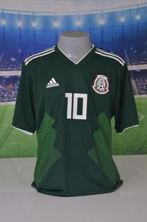 Camisa Do México Jogador 2018