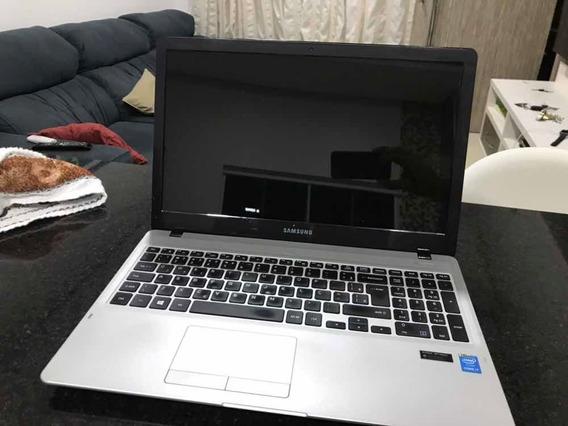 Carcaça Notebook Samsung Np500r5h Com Tela 15 E Fonte