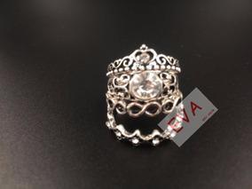 Anel Pandora Conjunto Com 4 Anéis. Todos Os Tamanhos