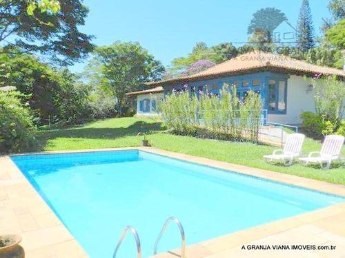 Imagem 1 de 13 de Casa À Venda, 420 M² Por R$ 1.850.000,00 - Granja Viana - Carapicuíba/sp - Ca0211