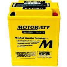 Bateria Bmw Gs 650gs Motobatt Mb12u  Honda Cb 400 Yb12a-la