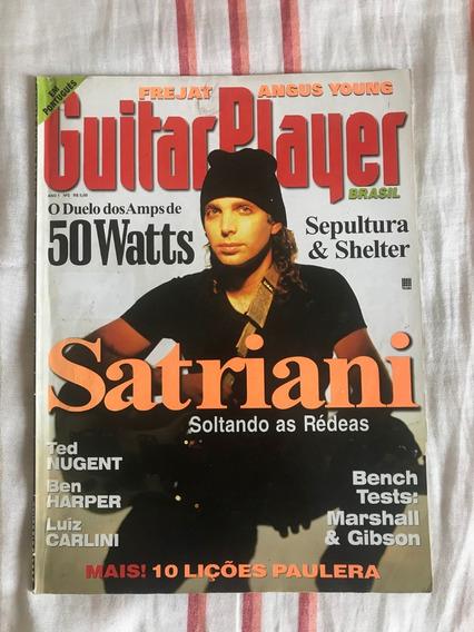 Revista Guitar Player N°2 #2 Joe Satriani - Fevereiro 1996