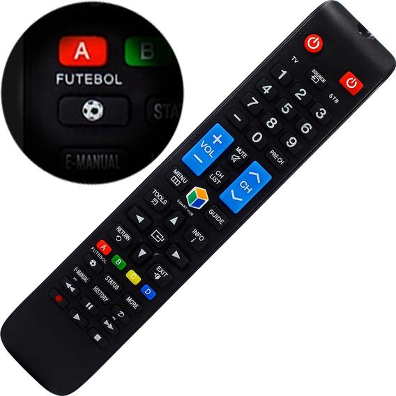 Controle Remoto Samsung Smart Tv Led Lcd 3d Função Futebol