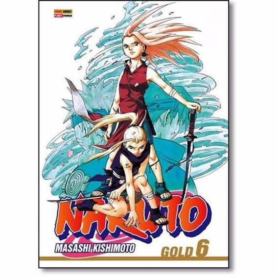 Naruto Gold Volume N° 6 Lacrado