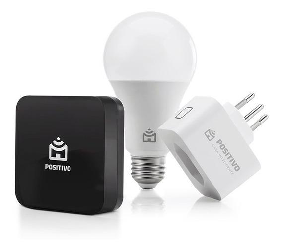 Kit Casa Conectada, Positivo Casa Inteligente (1 Smart Contr