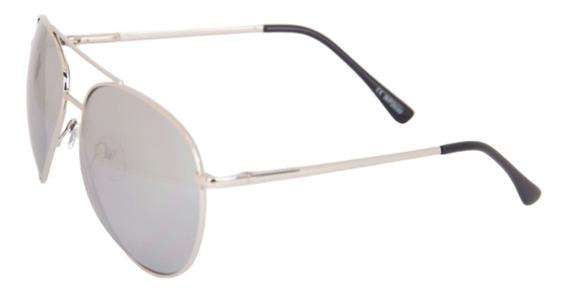 Óculos De Sol Aviador Espelhado Lançado Em Nova York + Case