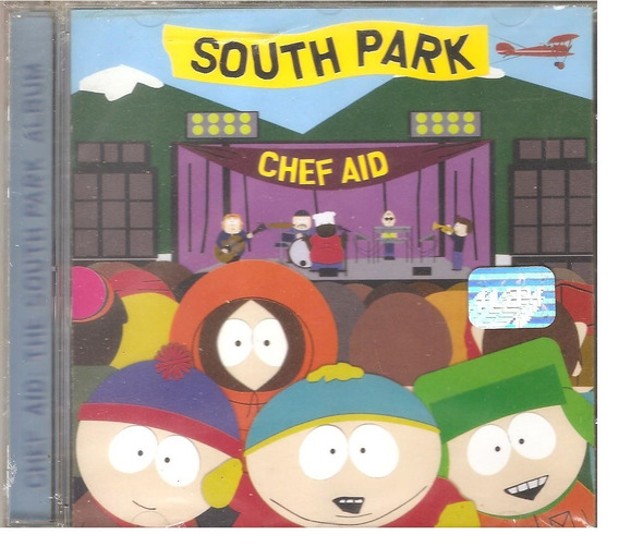 Cd Chef Aid The South Park Album - Perry Farrell Elton John