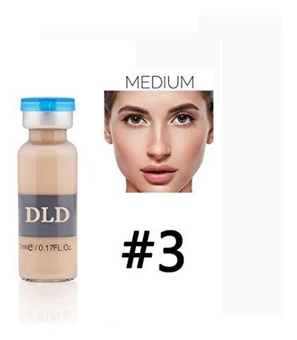 1 Ampola Bb Glow Dld - 5ml Cor: Medium