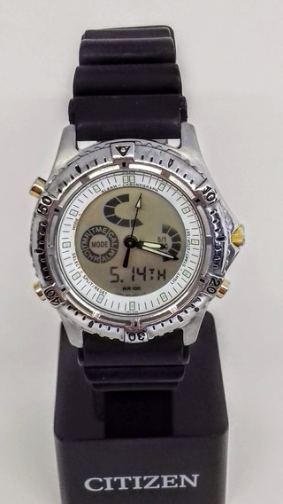 Relógio Citizen C820 Raro Ana-dig - Combo Wingman Promaster