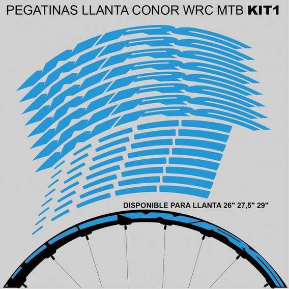 CONOR BIKE VINILO -LAMINA-PACK- BICICLETA MTB KIT STICKERS PEGATINAS