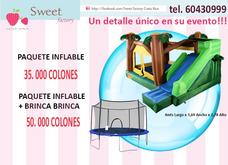 Inflable Y Brinca Brinca 35000, Palomitas Algodones Churros