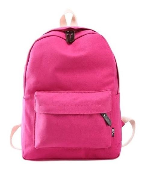 Mochila Bag Nylon Impermeável Unisex. Ref: 844