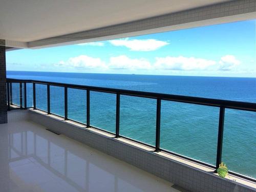 Apartamento À Venda, 282 M² Por R$ 3.290.000,00 - Rio Vermelho - Salvador/ba - Ap0767