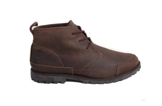 Bota Timberland Leather Cuero Chukka Marrón Talle 45