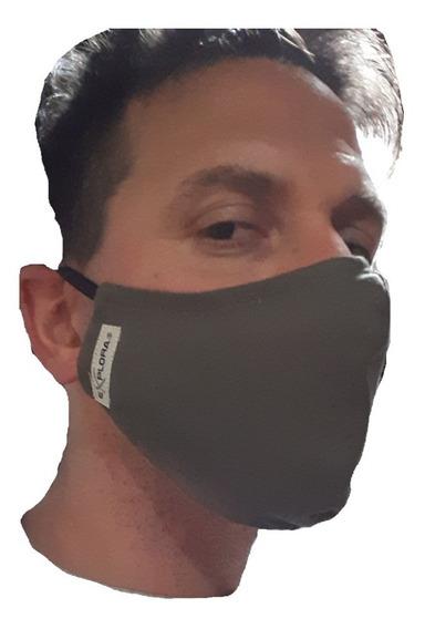 Mascara Moto Cara Tabajo Filtro Algodon X 10 Unid. Lavable
