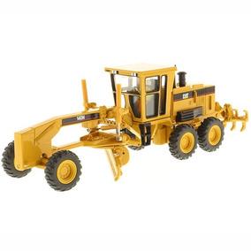 Motoniveladora Cat 140h Diecast Mast 1:50 - Trator Miniatura