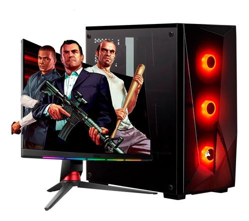 Pc Armada Gamer Diseño Amd Ryzen 5 3600 Nvidia Quadro P620