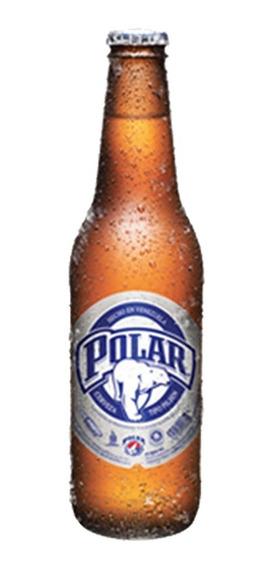 Cerveza Polar Pilsen Tercio 330ml Caja 24 Unid Retornable Lf