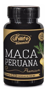 Maca Peruana Premium 120 Cáps Pura - Unilife