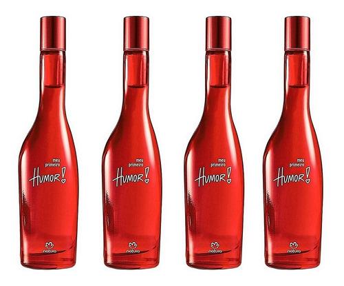Perfume Humor Meu Primeiro X 4 Natura O - mL a $179