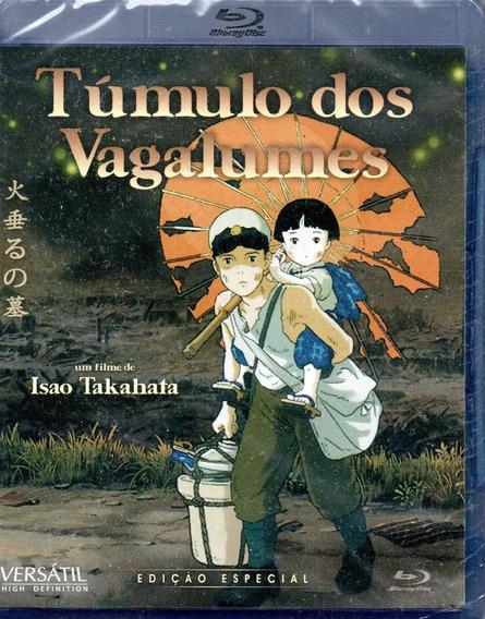 Blu-ray Tumulo Dos Vagalumes - Versatil - Bonellihq S20
