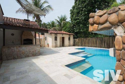 Casa Com 4 Dormitórios À Venda, 280 M² Por R$ 2.800.000,00 - Riviera - Módulo 18 - Bertioga/sp - Ca0192