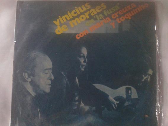 Lp La Fusa Vinilo Toquinho Y Maria Creuza Original 1970