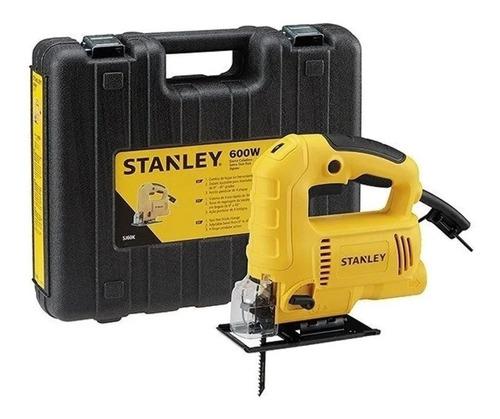 Sierra Caladora Profesional Stanley Stsj0600k 600w + Maletín