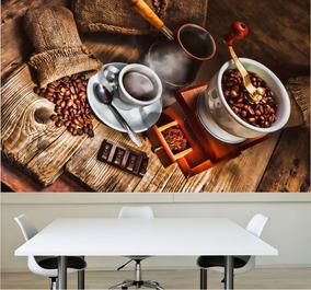 7d347a7fb Adesivo Painel Cozinha Café Cafeteria M06