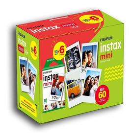 Filme Instax Mini 60 Poses Nova Embalagem. Entrega + Rápida