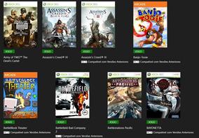 75 Jogos Xbox 360 Midia Digital Via Transferencia De Licença
