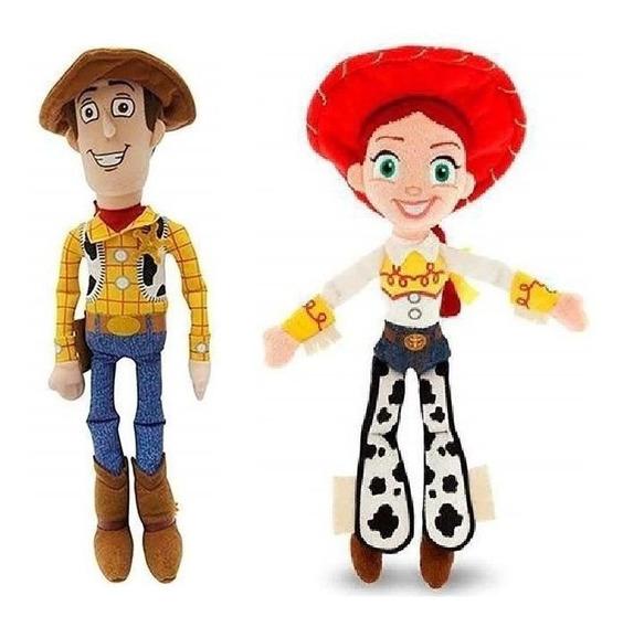 Pelucia Toy Story Jessie E Woody Antialergico C/ Som - Br390