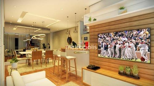 Imagem 1 de 18 de Apartamento Garden À Venda, 99 M² Por R$ 459.000,00 - Boa Vista - São Caetano Do Sul/sp - Gd0069