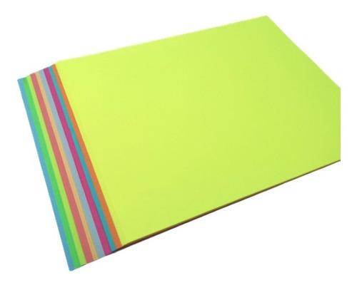 Imagen 1 de 1 de Hojas De Color Tamaño Carta, X Ciento 10 Colores