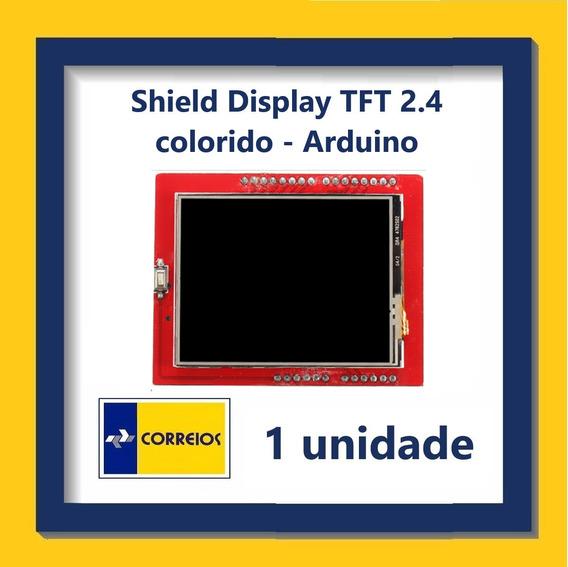 Shield Com Display Gráfico Tft 2.4
