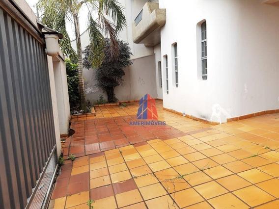 Casa Com 3 Dormitórios Para Alugar Por R$ 3.300/mês - Chácara Machadinho Ii - Americana/sp - Ca1149