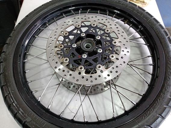 Roda Dianteira Triumph Xc 800 Completa