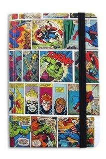 Caderno De Anotações Hq Marvel Comics Colorido Moleskine