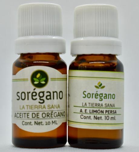 Sorégano Kit Desinfectante Orégano Y Limón Persa