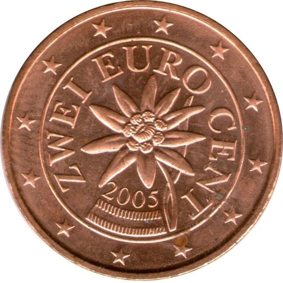 Spg Austria 2 Euro Cent 2004 ( Flor De Las Nieves )