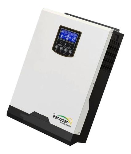 Inversor Cargador Solar 5000va / 10000va 48v Pwm 50a Renogen