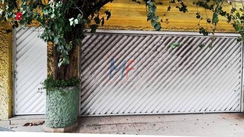 Imagem 1 de 3 de Ref: 12.267 Ótimo Sobrado 148 M²   Terreno E 200 M²  A.c., 3 Dorms. (1 Suíte), 2 Vagas, Na Vila Mariana Reforma Completa Ou Demolição. - 12267