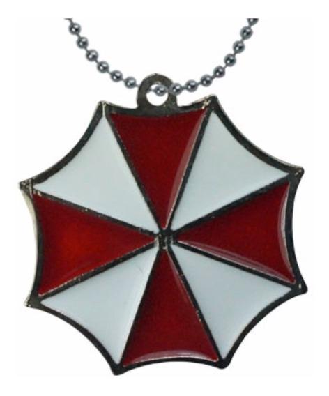 Resident Evil Dije Collar Umbrella Corporation Virus