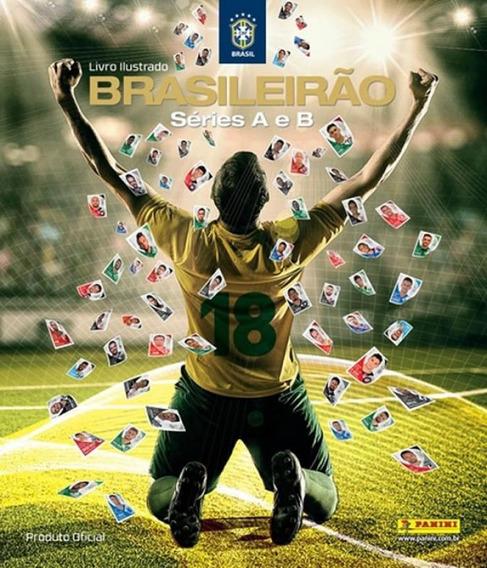 Album Campeonato Brasileiro 2018 (capa Dura) Com 10 Envelope