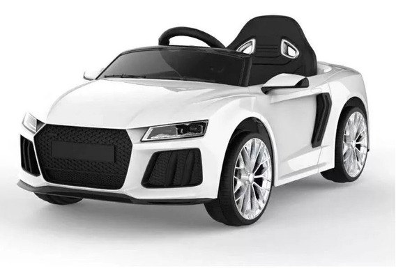 Auto Bateria Audi Gvt 12v Control Luces Mp3 Babymovil Full