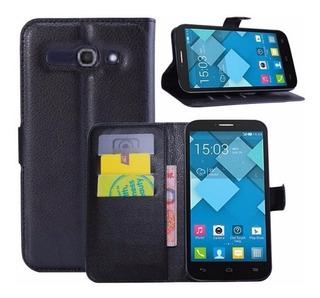 Capa Case Flip Carteira - Ot7047 - Alcatel One Touch Pop C9