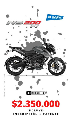Motocicleta Bajaj Pulsar Ns 200 Fi