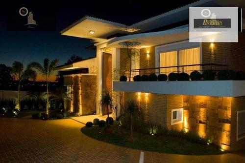 Casa Com 5 Dormitórios À Venda, 640 M² Por R$ 6.500.000,00 - Condomínio São Joaquim - Vinhedo/sp - Ca2458