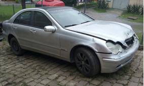 Sucata Peças Mercedes C180 2003 - Motor Cambio Diferencial
